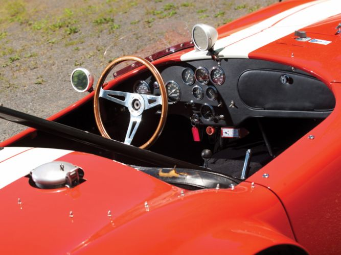 1964 Shelby Cobra Competition Roadster race racing muscle classic supercar supercars interior wallpaper