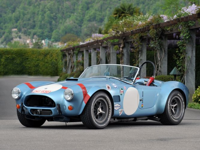 1964 Shelby Cobra Competition Roadster race racing muscle classic supercar supercars v wallpaper