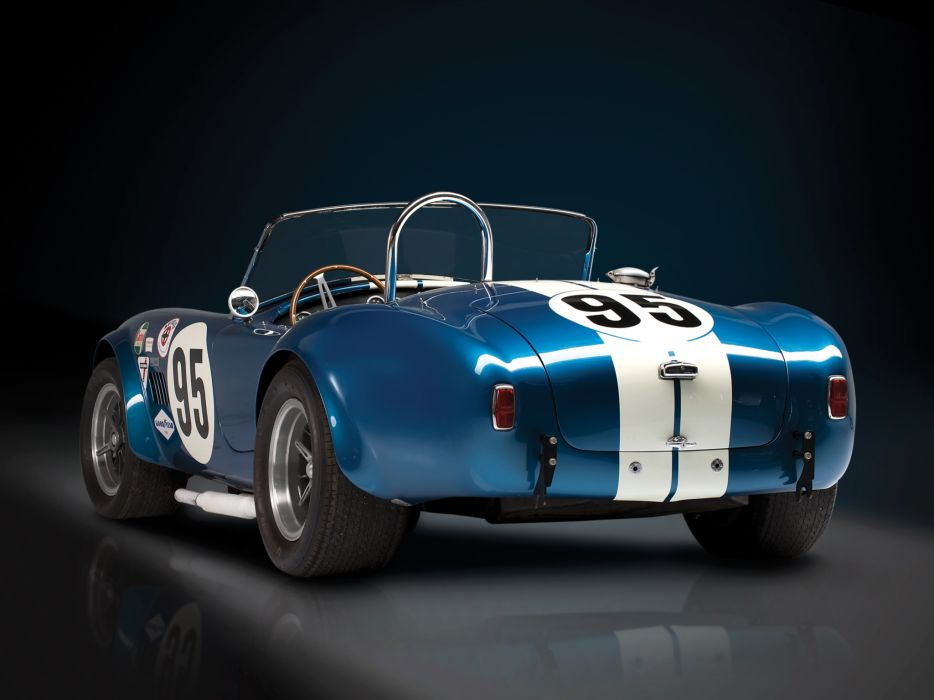1964 Shelby Cobra USRRC Roadster CSX 2557 race racing supercar supercars classic muscle     f wallpaper
