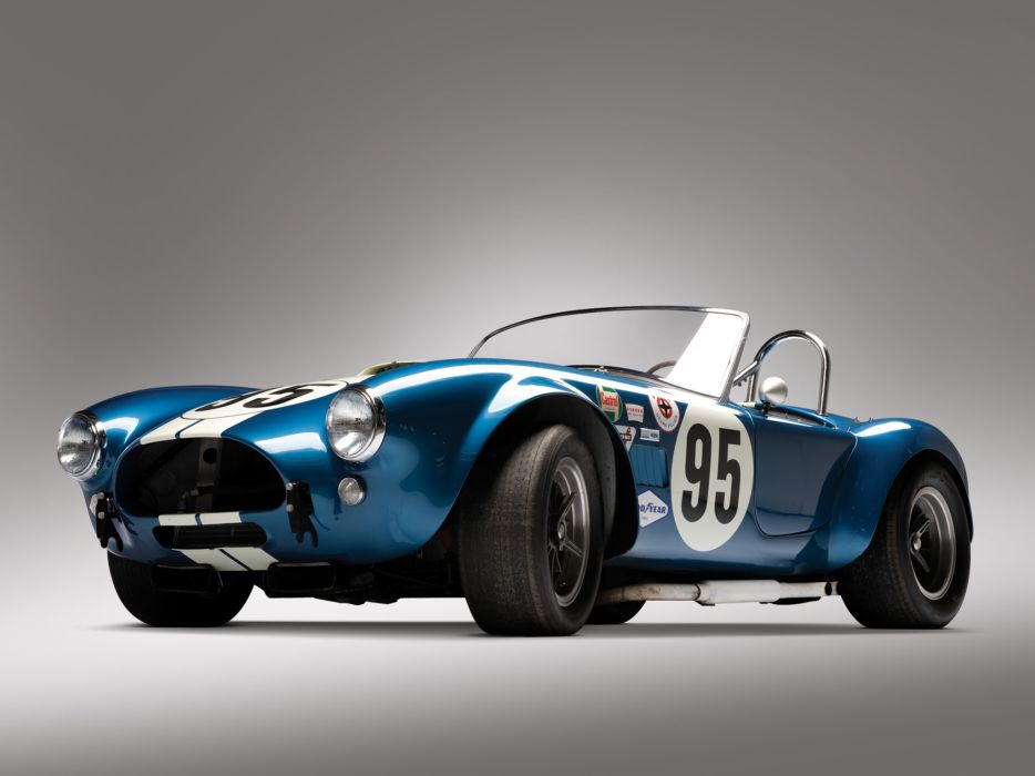 1964 Shelby Cobra USRRC Roadster CSX 2557 race racing supercar supercars classic muscle   g wallpaper