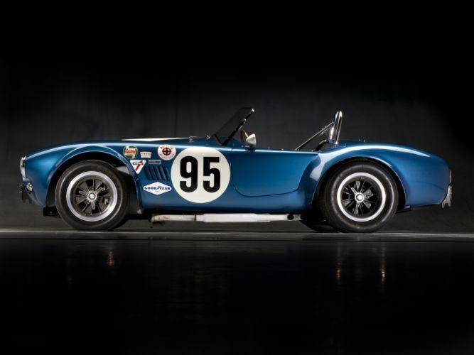 1964 Shelby Cobra USRRC Roadster CSX 2557 race racing supercar supercars classic muscle r wallpaper