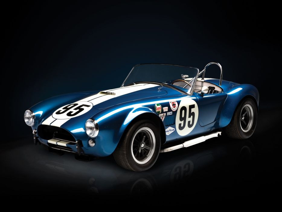 1964 Shelby Cobra USRRC Roadster CSX 2557 race racing supercar supercars classic muscle wallpaper