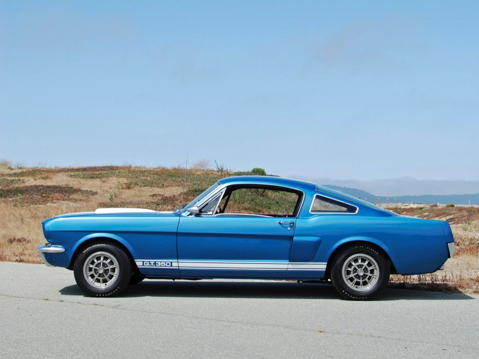 1965 Shelby GT350 ford mustang classic muscle     f wallpaper