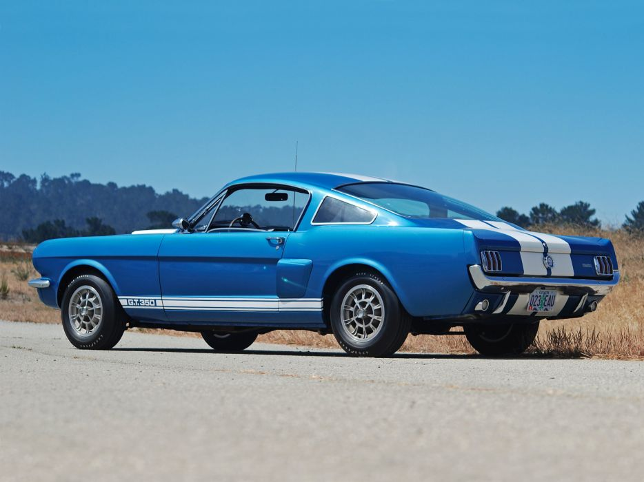 1965 Shelby GT350 ford mustang classic muscle    az wallpaper