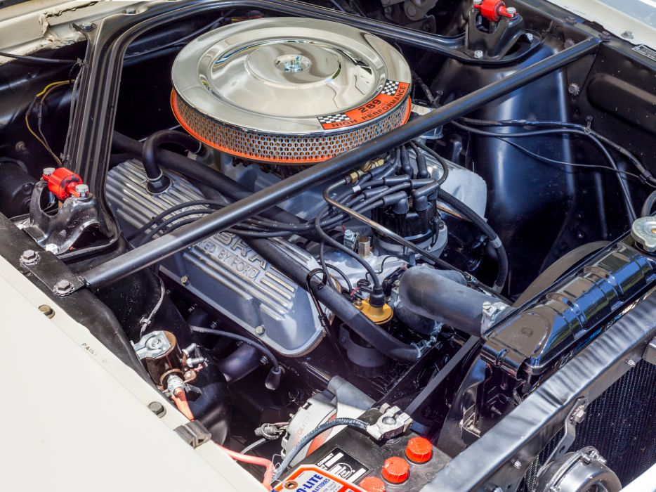 1965 Shelby GT350 ford mustang classic muscle engine engines  g wallpaper