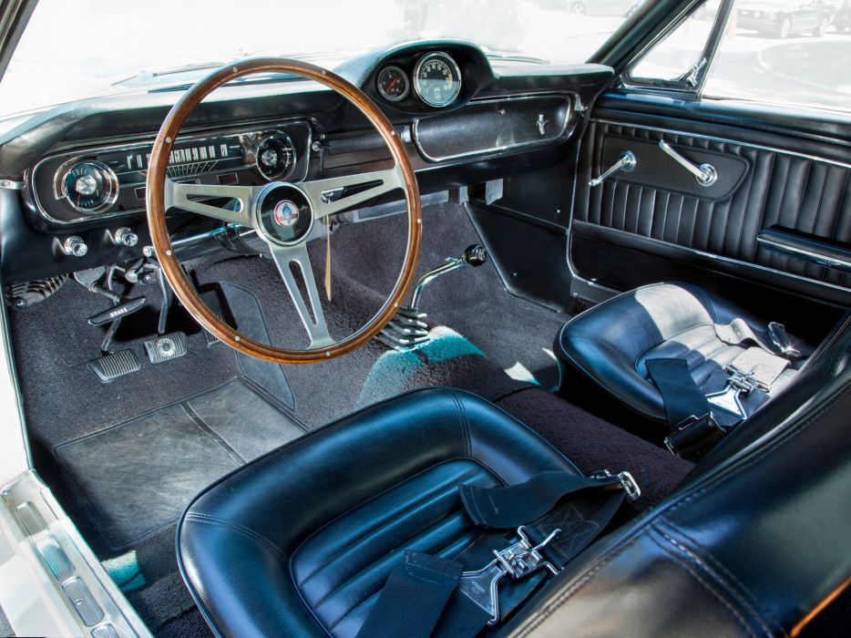 1965 Shelby GT350 ford mustang classic muscle interior wallpaper