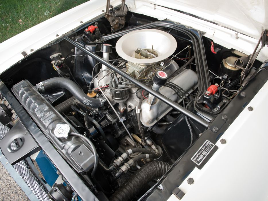 1965 Shelby GT350R ford mustang classic muscle race racing engine engines wallpaper