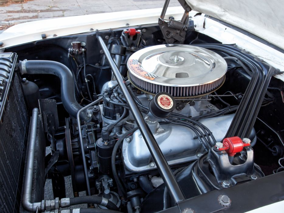 1965 Shelby GT350R ford mustang classic muscle race racing engine engines  c wallpaper