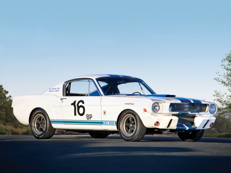 1965 Shelby GT350R ford mustang classic muscle race racing w wallpaper