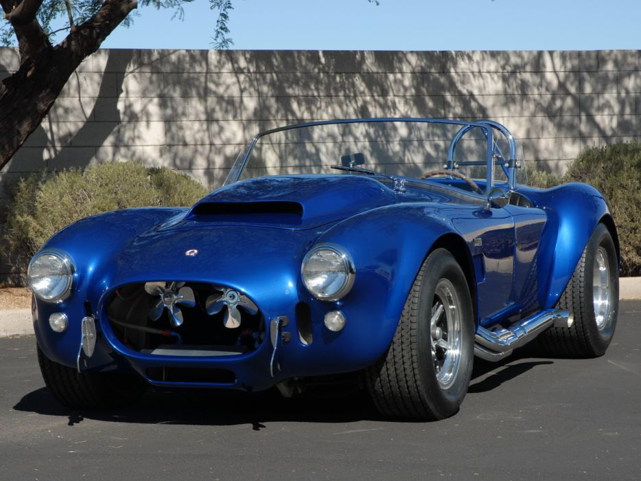 1966 Shelby Cobra 427 MkIII supercar supercars classic muscle race racing   f wallpaper