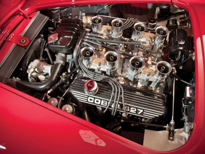 1966 Shelby Cobra 427 MkIII supercar supercars classic muscle race racing engine engines wallpaper