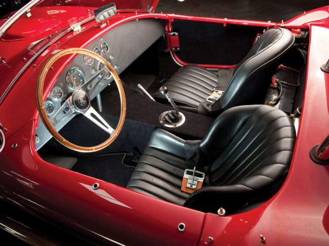 1966 Shelby Cobra 427 MkIII supercar supercars classic muscle race racing interior wallpaper
