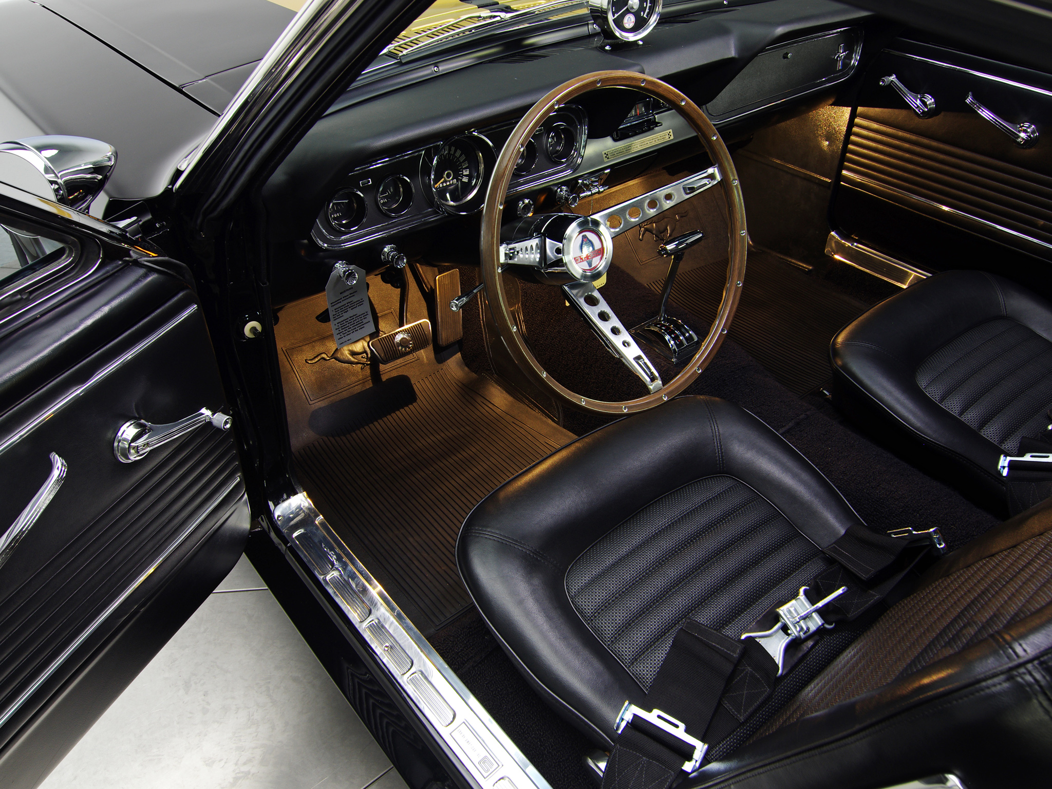 1966 Mustang Rally Pacfilerpm Pac Wikimedia Commons Wiring Shelby Gt350h Ford Classic Muscle Interior