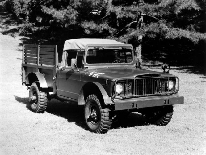 1967 Kaiser Jeep M715 military classic truck trucks 4x4 offroad wallpaper