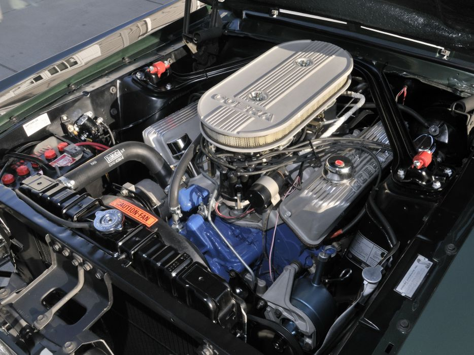 1967 Shelby GT500 ford mustang muscle classic engine engines  f wallpaper