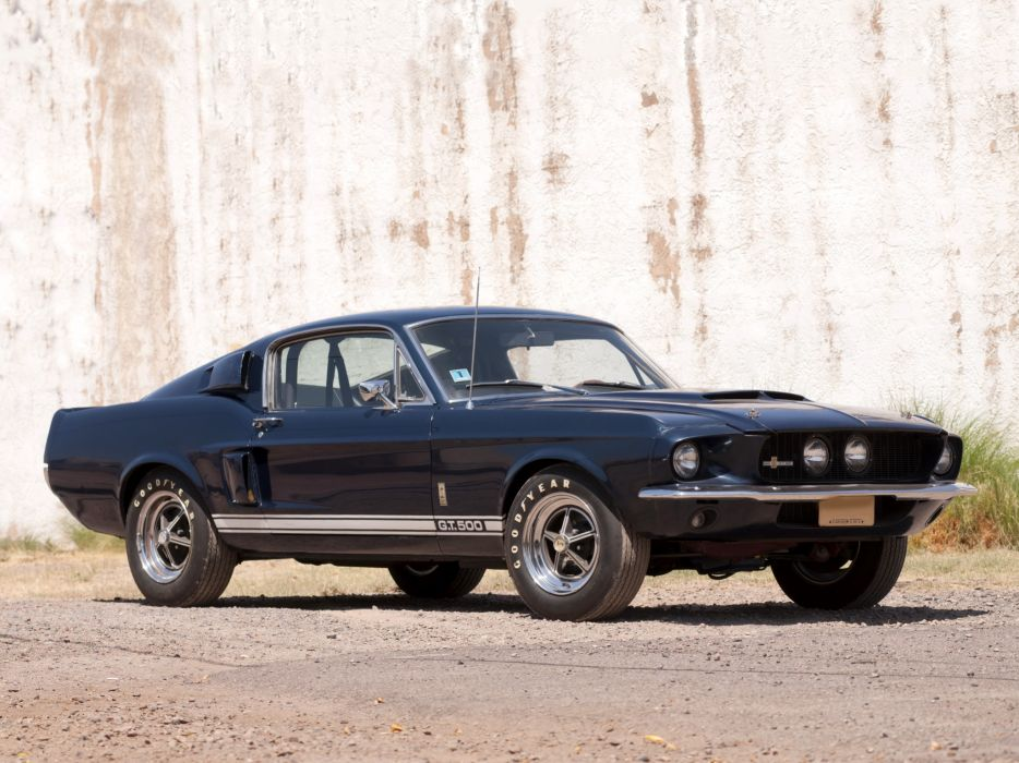 1967 Shelby GT500 ford mustang muscle classic h wallpaper
