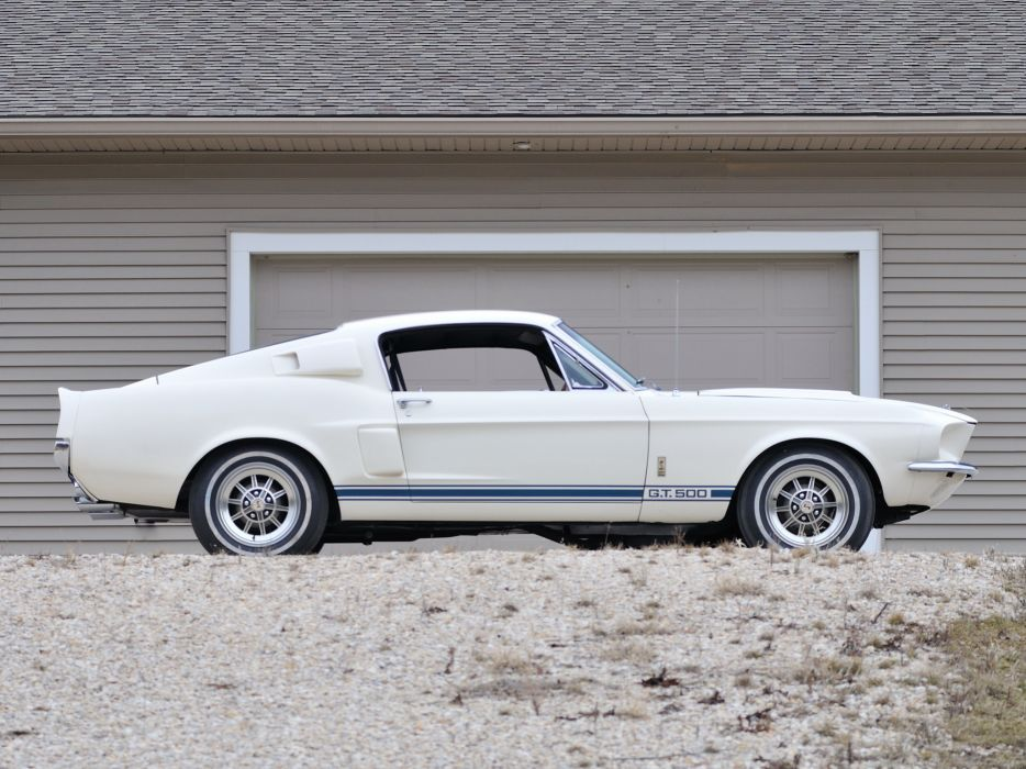 1967 Shelby GT500 Super-Snake ford mustang classic muscle r wallpaper