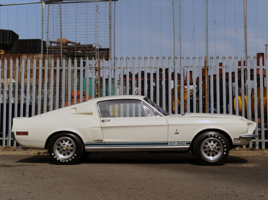1968 Shelby GT350 ford mustang classic muscle e wallpaper