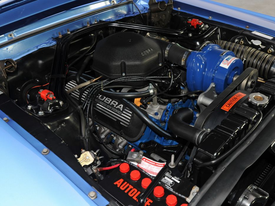 1968 Shelby GT350 ford mustang classic muscle engine engines wallpaper