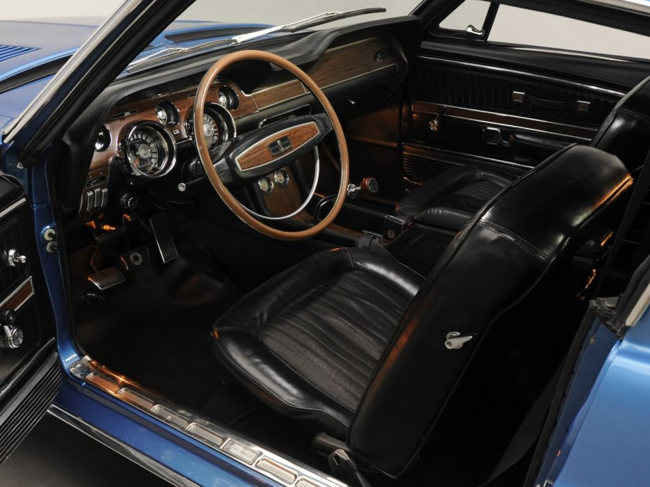 1968 Shelby GT350 ford mustang classic muscle interior wallpaper