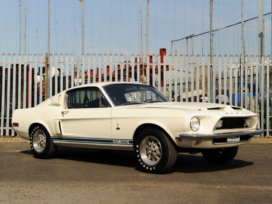 1968 Shelby GT350 ford mustang classic muscle w wallpaper
