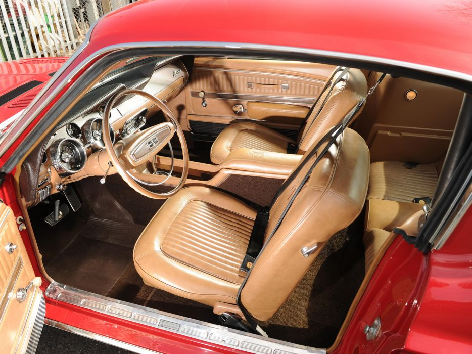 1968 Shelby GT500 ford mustang classic muscle interior wallpaper