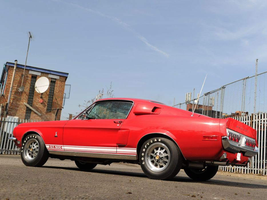 1968 Shelby GT500 ford mustang classic muscle s wallpaper