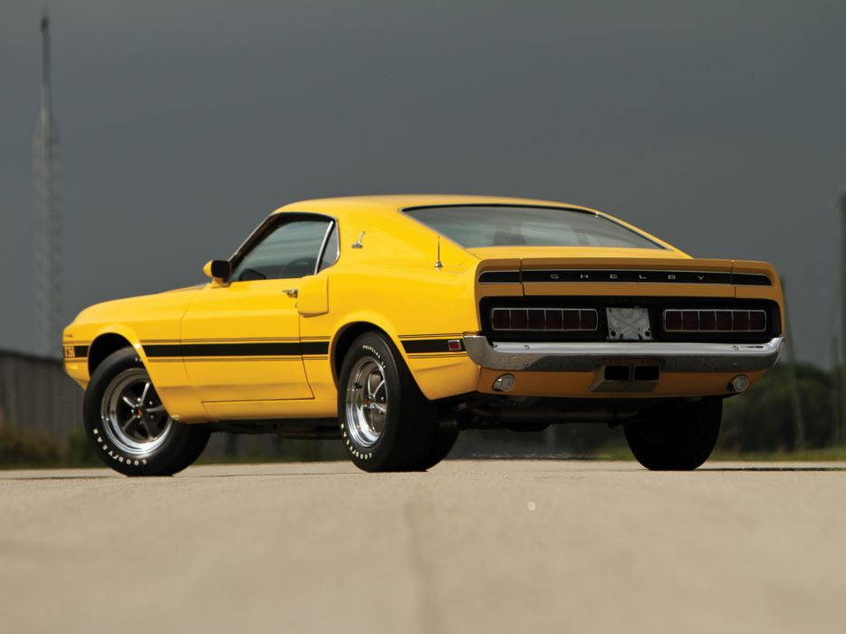 1969 Shelby GT350 ford mustang classic muscle      h wallpaper