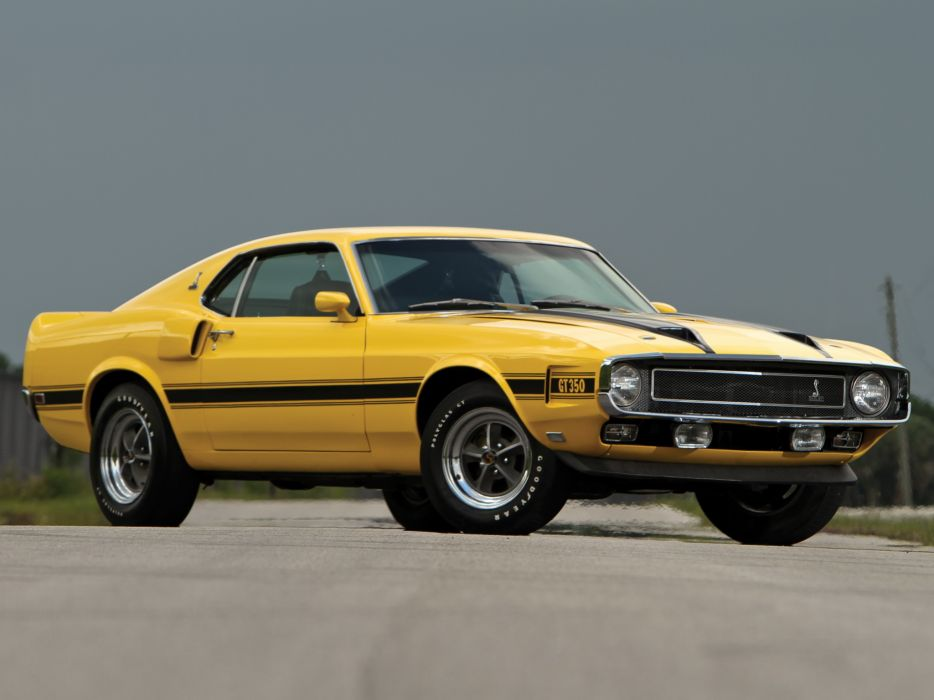 1969 Shelby GT350 ford mustang classic muscle  ht wallpaper
