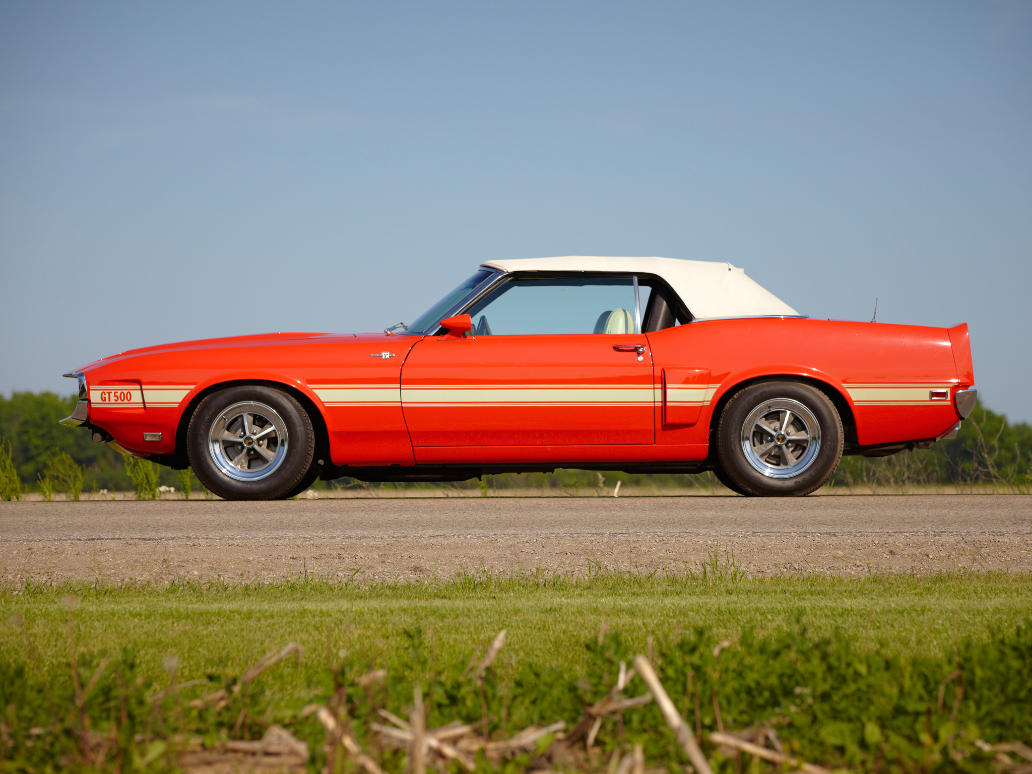 1969 Shelby Gt500 Convertible Ford Mustang Classic Muscle