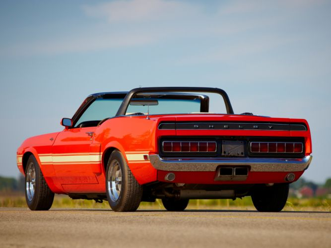 1969 Shelby GT500 Convertible ford mustang classic muscle e wallpaper
