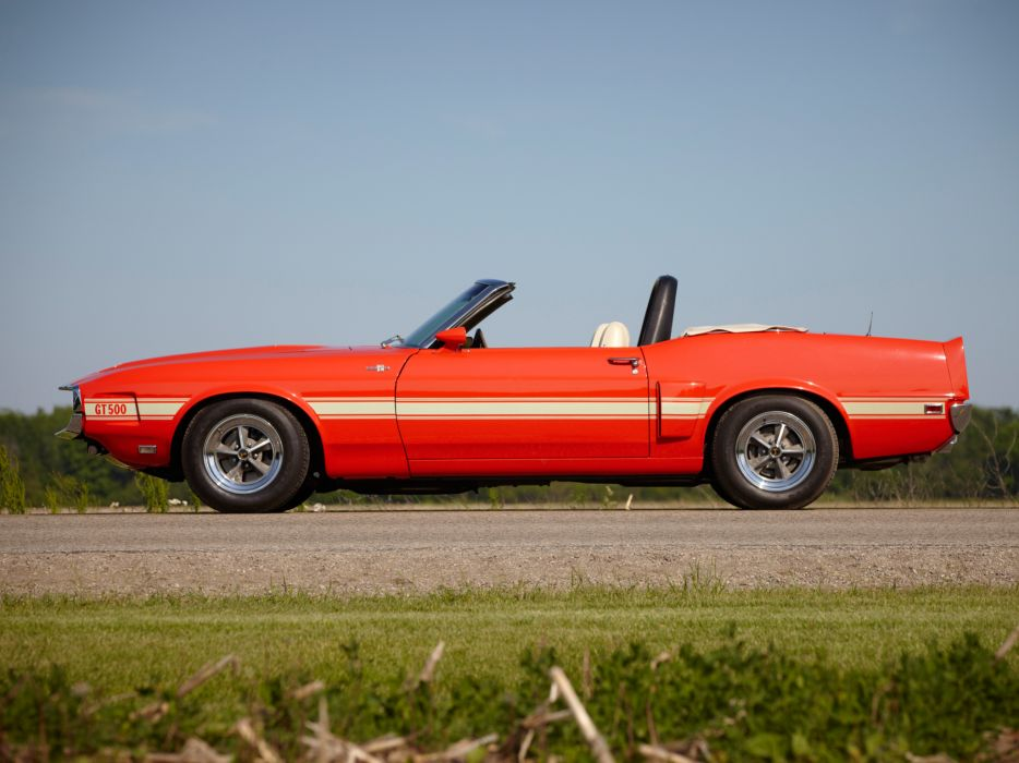 1969 Shelby GT500 Convertible ford mustang classic muscle r wallpaper