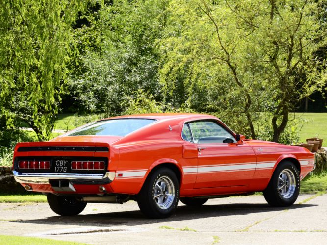 1969 Shelby GT500 ford mustang classic muscle g wallpaper