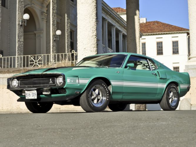 1969 Shelby GT500 ford mustang classic muscle bn wallpaper