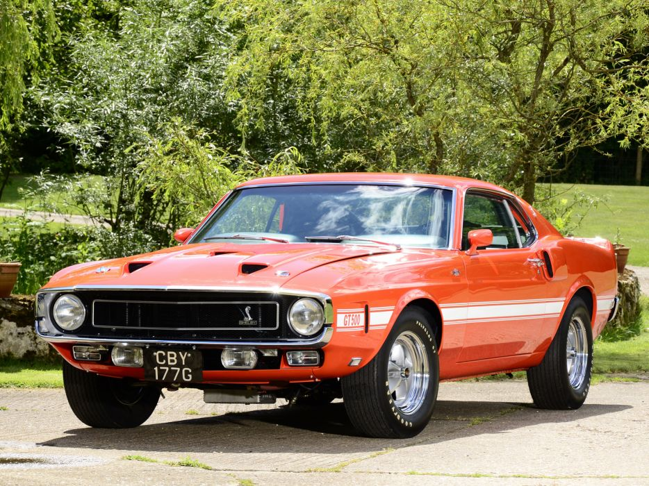 1969 Shelby GT500 ford mustang classic muscle e wallpaper