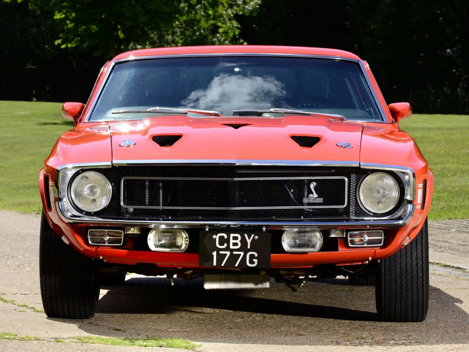 1969 Shelby GT500 ford mustang classic muscle h wallpaper