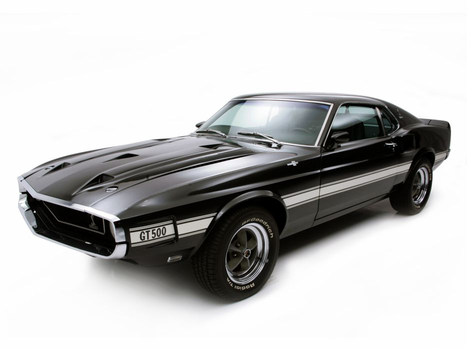 1969 Shelby GT500 ford mustang classic muscle j wallpaper