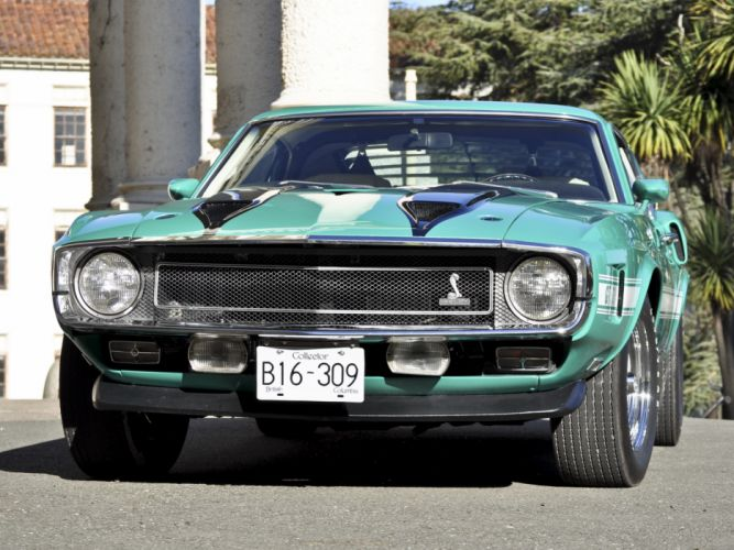 1969 Shelby GT500 ford mustang classic muscle w wallpaper