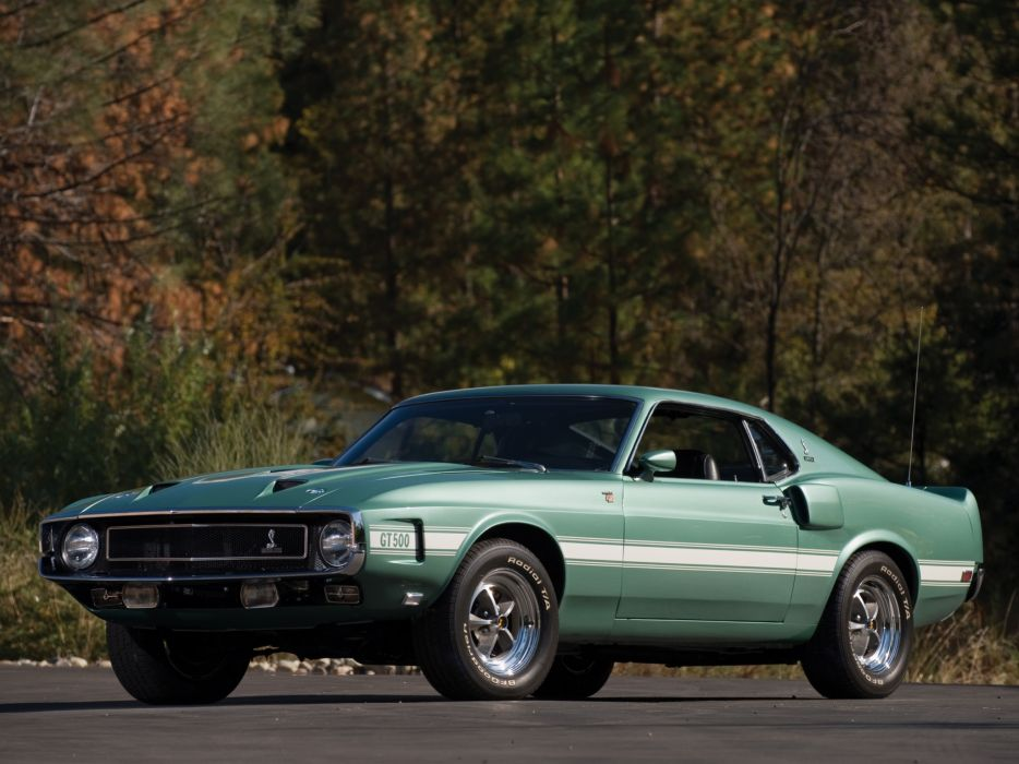 1969 Shelby GT500 ford mustang classic muscle z wallpaper