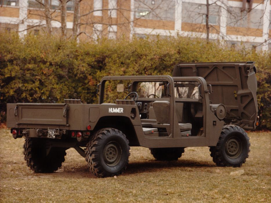 1981HMMWV XM998 hummer 4x4 offroad military truck trucks wallpaper