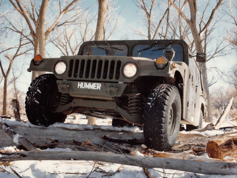 1981HMMWV XM998 hummer 4x4 offroad military truck trucks f wallpaper