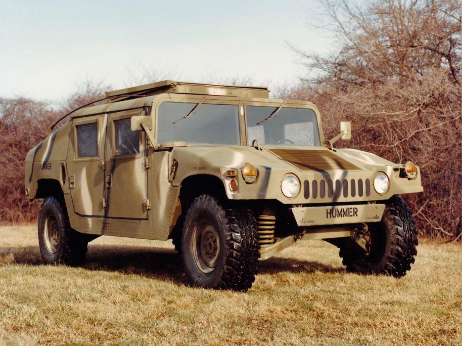 1983 HMMWV M998 hummer military 4x4 offroad truck trucks wallpaper