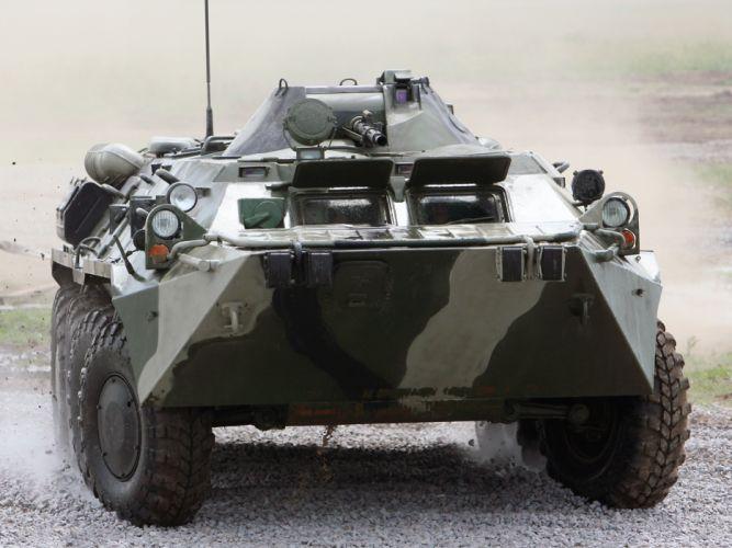 1984 GAZ 5903 APC-80 apc military 6x6 offroad z wallpaper