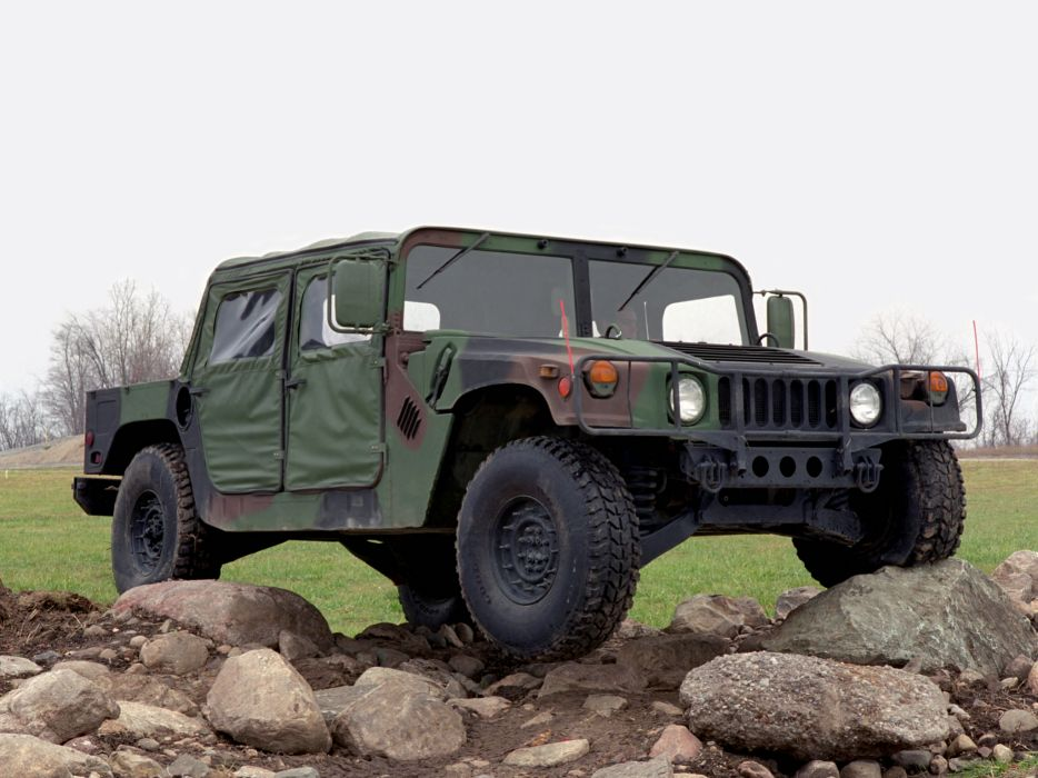 1984 HMMWV M998 hummer military 4x4 offroad truck trucks w wallpaper