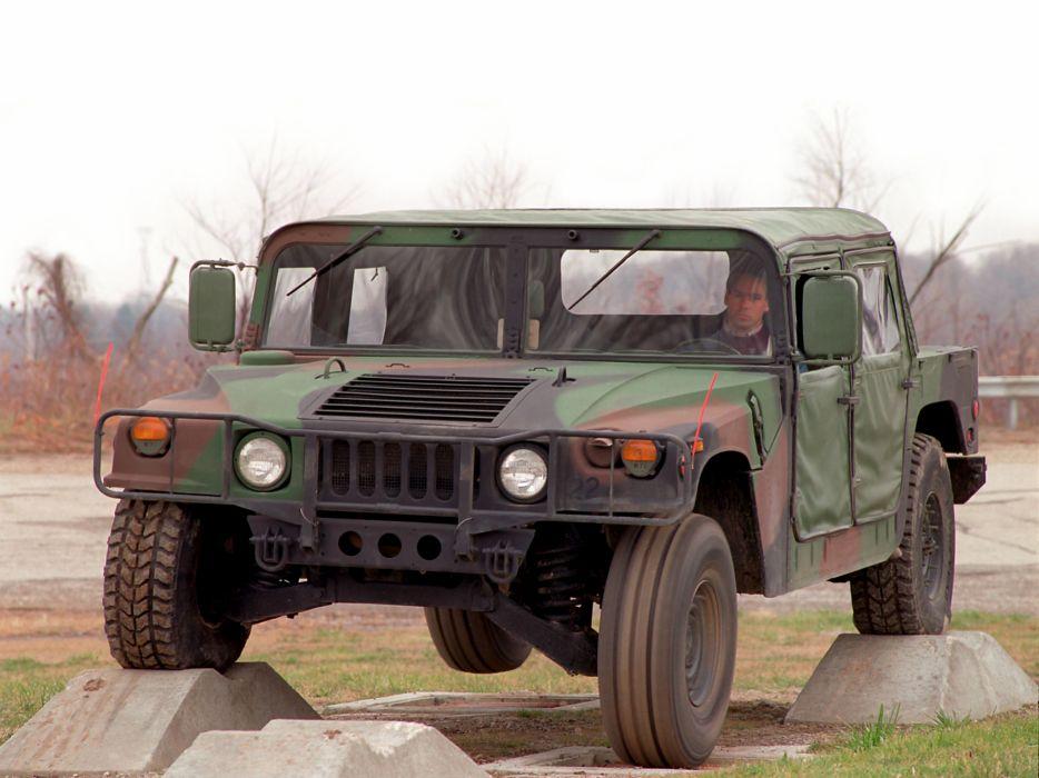 1984 HMMWV M998 hummer military 4x4 offroad truck trucks wallpaper
