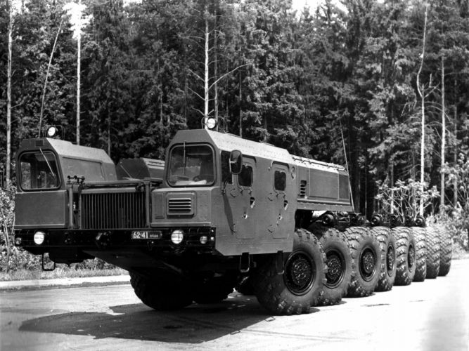1990 MAZ 7922 Bison experienced military wallpaper