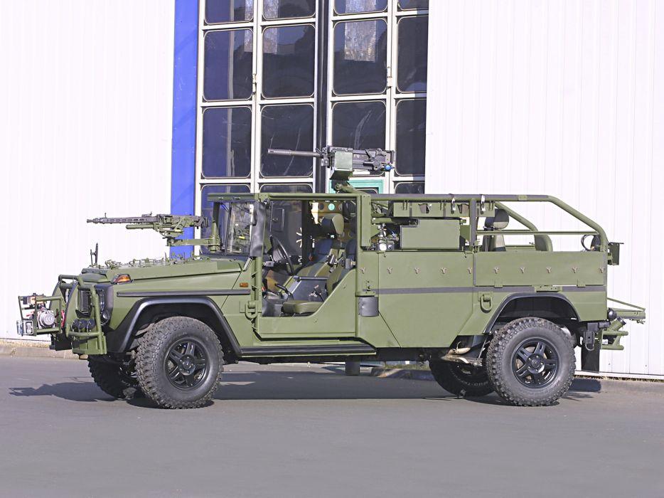 1992 Mercedes Benz G-Klasse W461 military 4x4 offroad weapon weapons gun guns q wallpaper