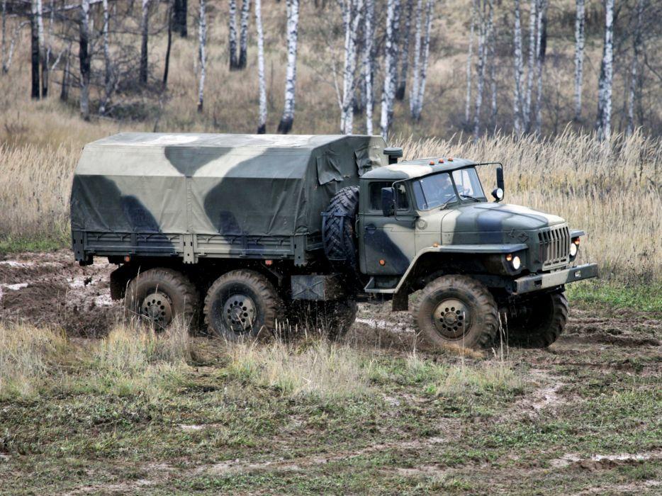 1993 Ural 4320-10 6x6 offroad truck trucks military    g wallpaper