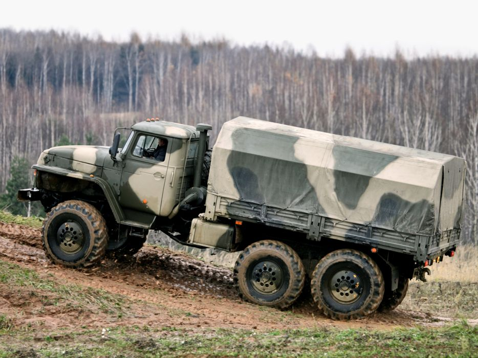 1993 Ural 4320-10 6x6 offroad truck trucks military      g wallpaper