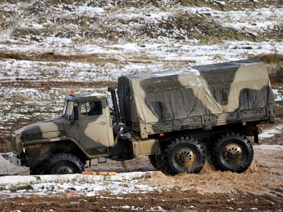 1993 Ural 4320-10 6x6 offroad truck trucks military    ge wallpaper